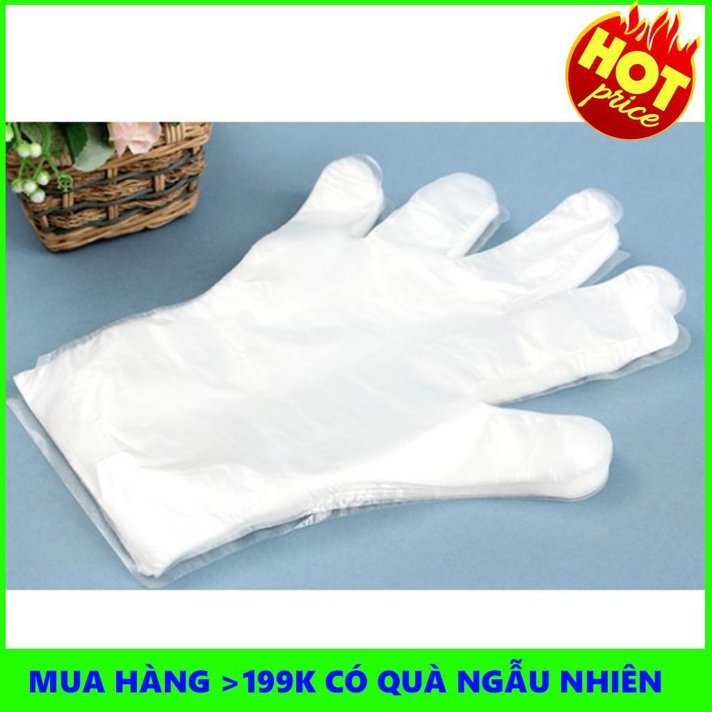 Găng tay nilong dùng 1 lần bộ 50 cái - THANH XUÂN