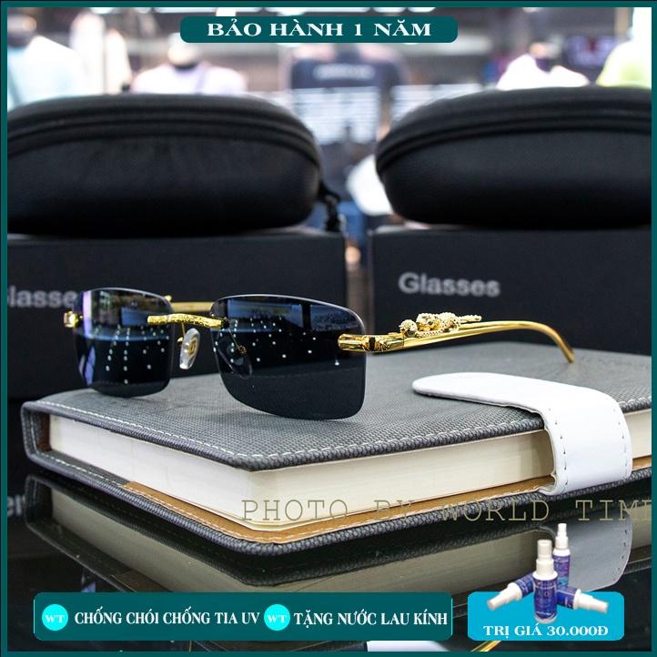 Kính mát nam PM002 thời trang cao cấp ,full box, tròng Polazied, chống lóa , chống tia UV cực tốt