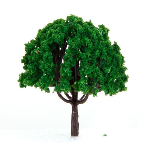 20pcs 3 inch Scenery Landscape Train Model Trees Scale 1/100