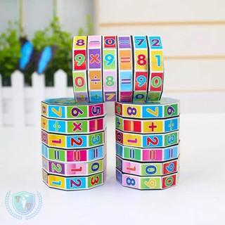 Rubik toán học 6 tầng cho trẻ phát triển trí thông mình và tư duy