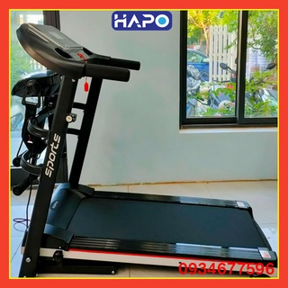 Máy chạy bộ HAPO – Máy đi bộ trong nhà – băng chạy chống rung – tích hợp máy rung, tập bụng