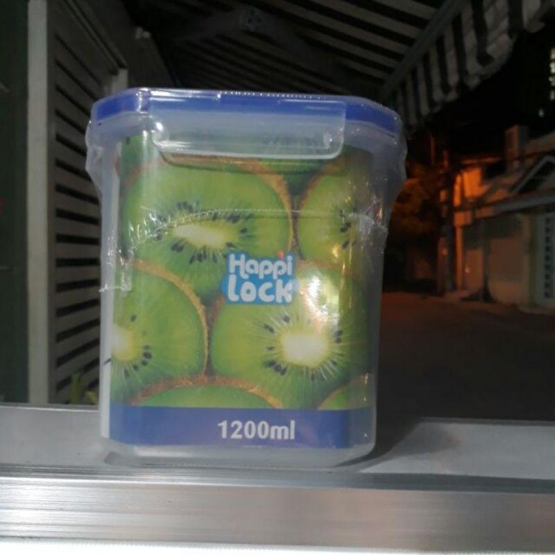 Bộ đôi 2 hộp nhựa happy lock 1200ml tiện lợi