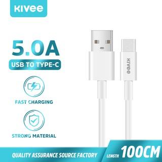 PD100W Dây cáp sạc nhanh Kivee CT208 100W 5A 2A USB to Type C Micro Lighting Samsung Galaxy S10 S9 Xiaomi Redmi OnePlus thumbnail