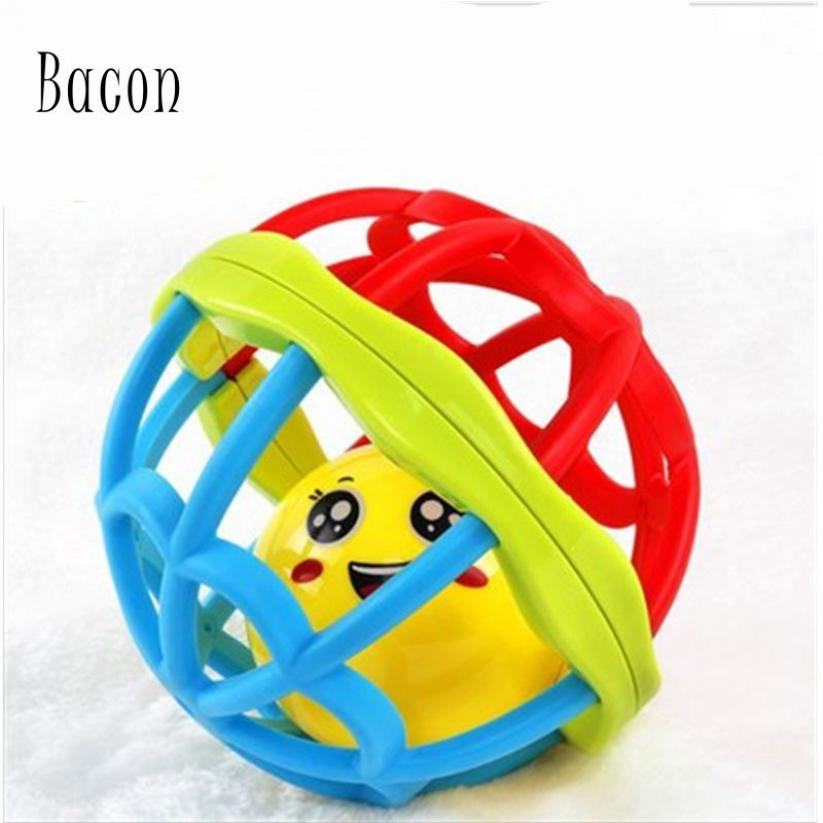 Bacon Bé đồ chơi mềm cao su tay bóng