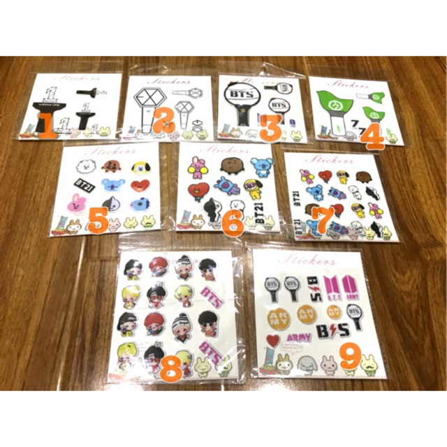 Sticker 3D Kpop dán điện thoại laptop - 3282416 , 825977252 , 322_825977252 , 15000 , Sticker-3D-Kpop-dan-dien-thoai-laptop-322_825977252 , shopee.vn , Sticker 3D Kpop dán điện thoại laptop