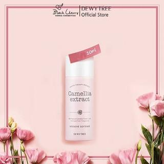 Nước hoa hồng tinh chất hoa trà làm sạch, cấp ẩm và chống lão hóa Dewytree Camellia Extract Toner 20ml thumbnail
