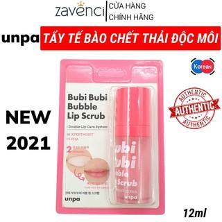 Tẩy Da Chết Môi UNPA Bubi Bubi Lip Sủi Bọt Thải Độc Môi Dạng Gel Chính Hãng Hàn Quốc (12ml) thumbnail