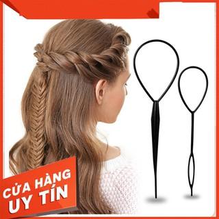 dụng cụ buộc tóc đa năng - dung cụ buộc tóc không cần nhiệt- dụng cụ buộc tóc cho bé 1203 thumbnail
