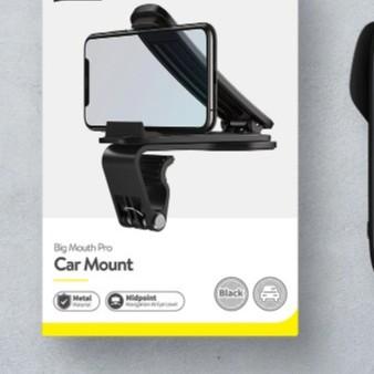 Giá Đỡ Điện Thoại Baseus Big Mouth Pro Car Mount Có Chân Kẹp Điều Chỉnh Giữ Điện Thoại Vào Taplo Xe Hơi