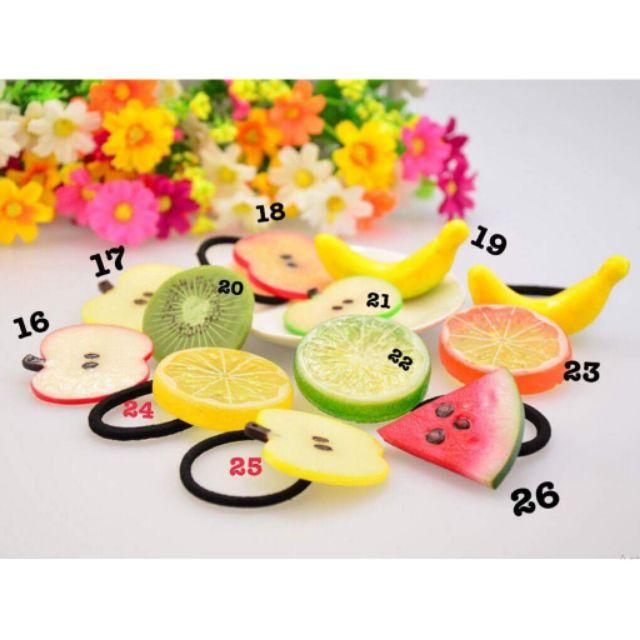 Dây buộc tóc trái cây (loại to)