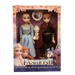 1 Bộ 2 Búp Bê Công Chúa Elsa Và Anna – Hàng nhập khẩu