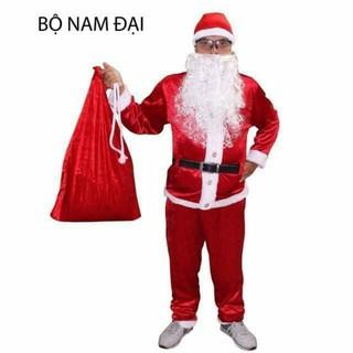 Bộ ông già Noel bằng Nhung(đủ bộ)