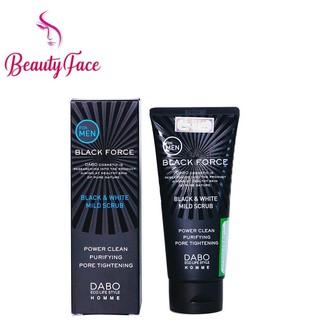Sữa Rửa Mặt Cao Cấp Dành Cho Nam DABO Black Force For Men thumbnail
