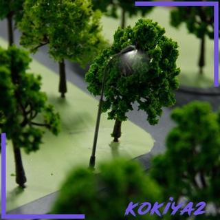 [KOKIYA2] 10 x Single Head Model Street Lamp Lights Crafts Train Layout Scenery Decor