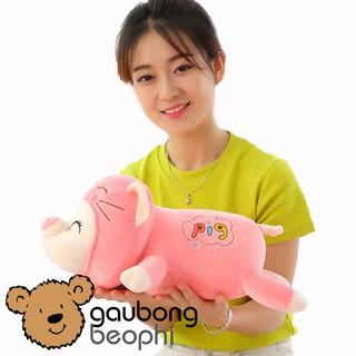 Gấu Bông Lợn Mềm Nằm Hàng Cao Cấp Size 45cm , Quà Tặng Cho Bạn Gái Hot Nhất Năm 2019