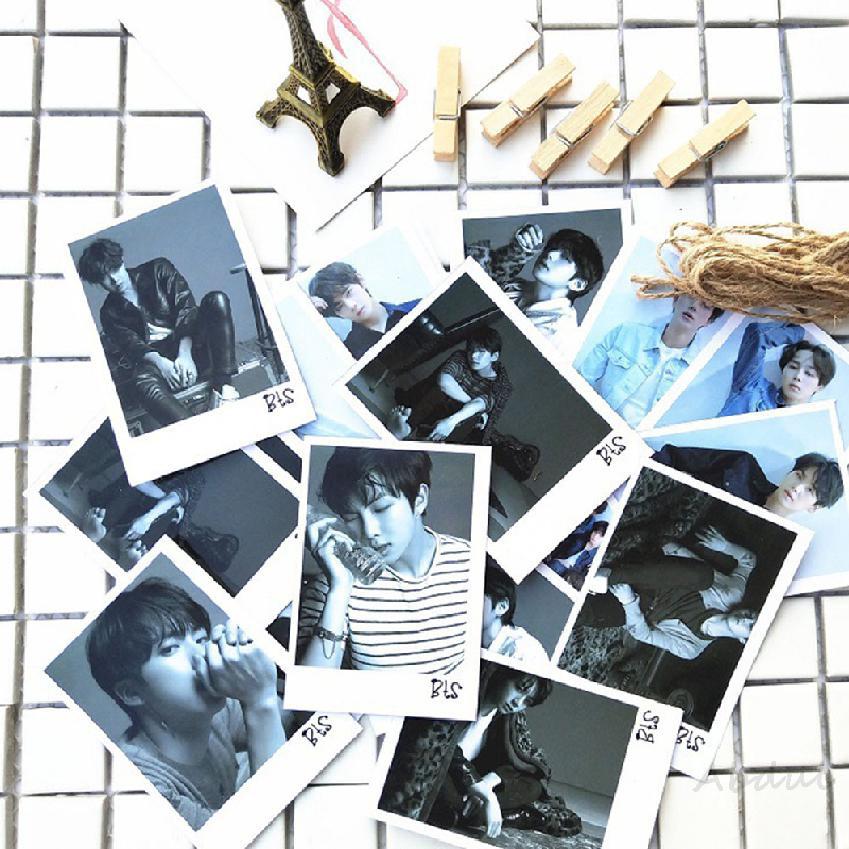 COD BTS BT21 Tear Album Photo Transparent Card 361