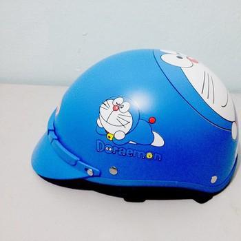 (Trợ giá) Mũ bảo hiểm 1/2 Doremon + kínhuv