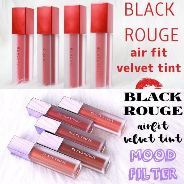 [SẴN MÀU TỪ A01 ĐẾN A17] Son Kem Lì Black Rouge Air Fit Velvet Tint