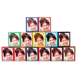 [Mã COS1505 giảm 8% đơn 300K] Nhuộm tóc từ thảo dược Ấn Độ Henna Herbul hộp 6 gói