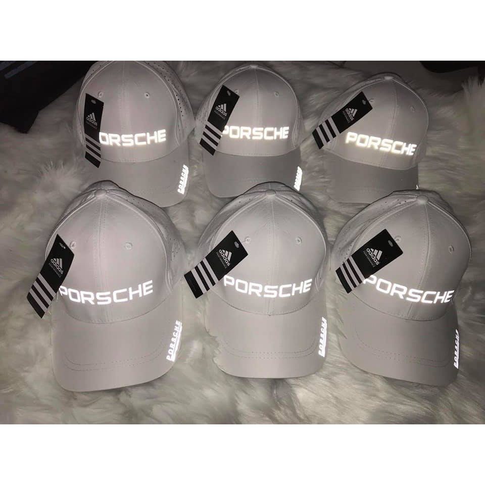 Mũ thời trang cao cấp logo phản quang Porsche vip