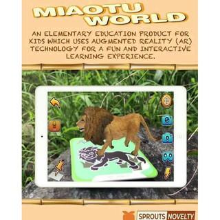 Bộ 60 thẻ animals 4D siêu rẻ ( thẻ thực tế ảo)