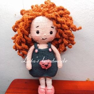 Búp bê Emily tóc xù cực dễ thương 17cm