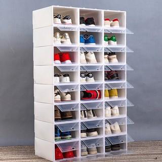 Hộp Đựng Giày Nắp Nhựa Cứng Loại 1 Dầy Dặn Và Cứng Cáp - Size Nam 33x23x14,5cm