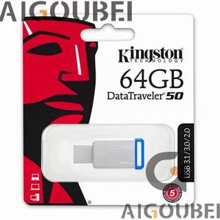 [Spot & COD] DT50 Flash Drive Metal Tốc độ cao U Disk Flash Drive Bộ nhớ flash 64GB