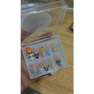 nail box thiết kế móng giả tự gắn tặng kèm quà thumbnail
