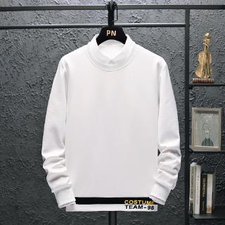 Áo Sweater Cổ Tròn Hở Nửa Đầu Thời Trang Cho Nam