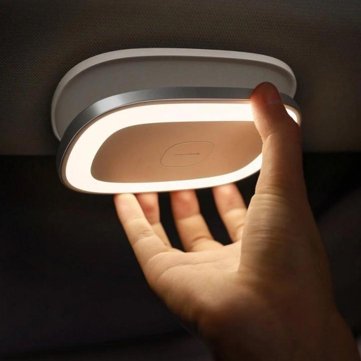 Đèn led gắn trần ô tô, phòng khách, phòng bếp cao cấp Baseus CRYDD01-01 - Dung lượng pin: 400mAh