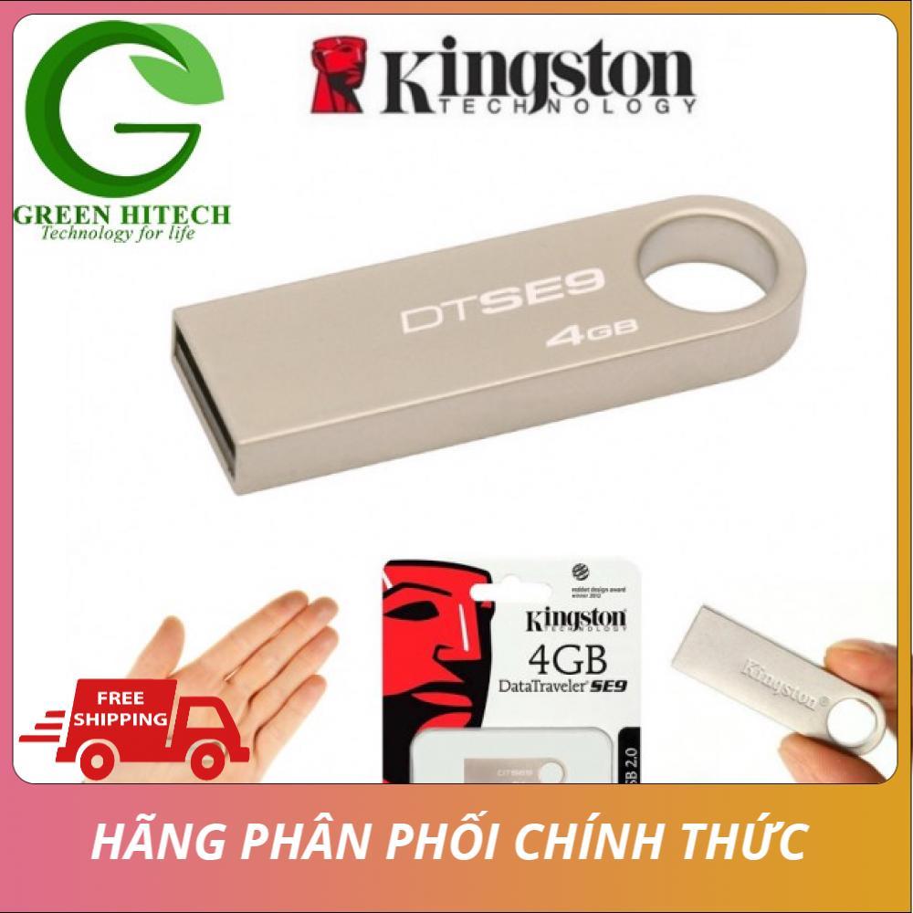 [BH 24 tháng] USB DTSE9 4G - Tem chính hãng BH 24 tháng