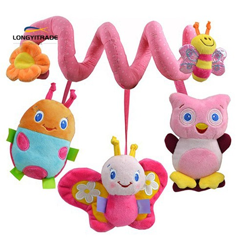 Multifunction  Bed Hanging Rattle Butterfly Bee Owl  Crib Toy