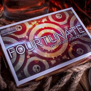 Đạo cụ ảo thuật FOURTUNATE by DAVID JONATHAN AND MARK MASON [Hàng Gốc]