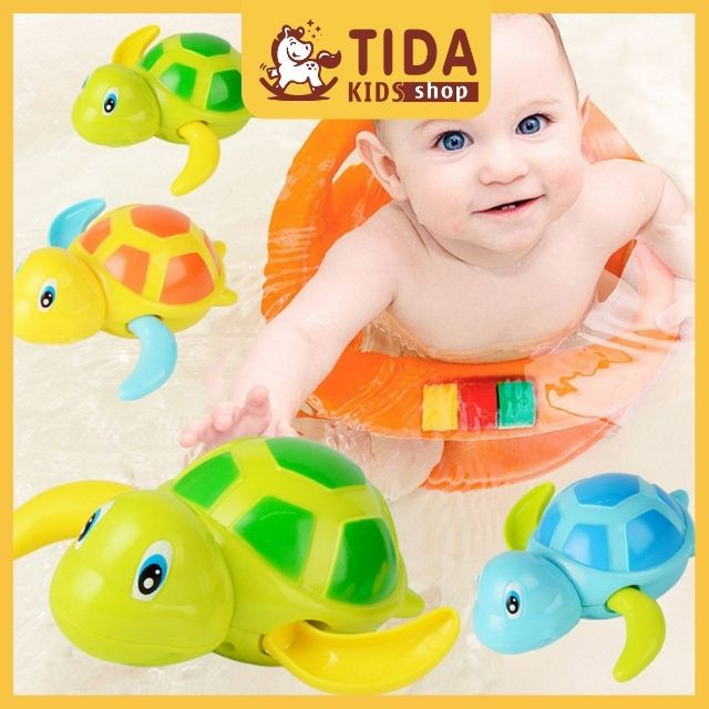 Rùa Bơi Đồ Chơi Thả Bồn Nhà Tắm Nhiều Mẫu Cho Bé Giá Tốt ❤️ Freeship ❤️ TiDa Kids Shop