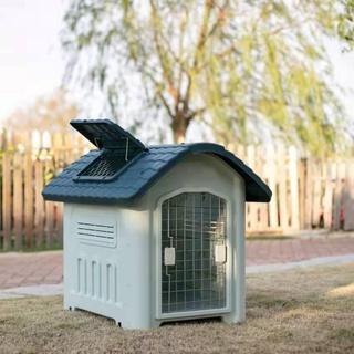 Chuồng chó ngoài trời Chuồng chó giữ ấm, chống nắng, chống mưa, chống gió, chống cắn, chống lão hóa Nhà cho chó biệt thự thumbnail