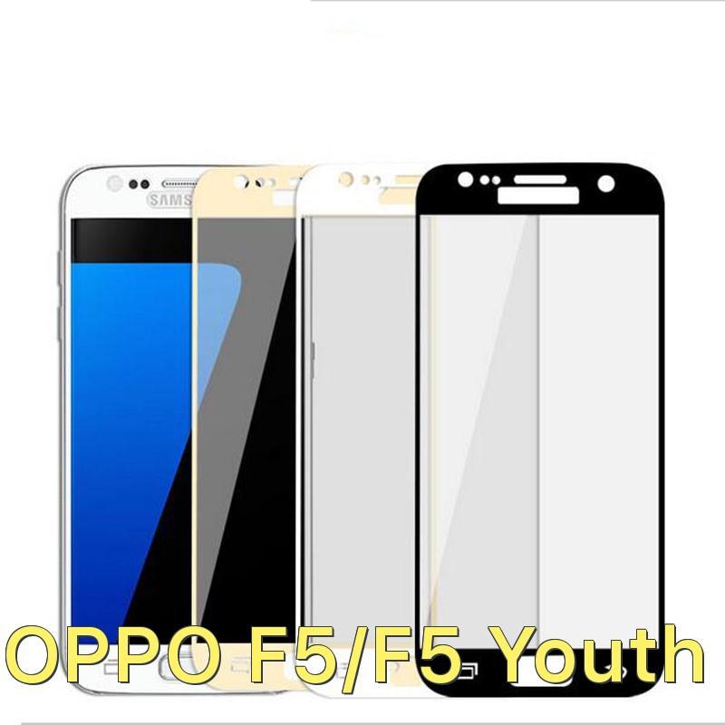 Dán full màn hình viền màu cho Oppo F5/F5 Youth