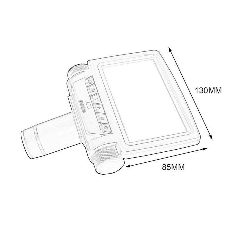 8.15【HOT】Andonstar Professional 5 Inch Screen Digital Microscope for Phone Repair