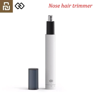 2021 Xiaomi Youpin Mini Electric Nose Hair Trimmer Ear Hair Shaver Clipper HN3 Sharp Blade Body Wash Portable Minimalist Waterproof
