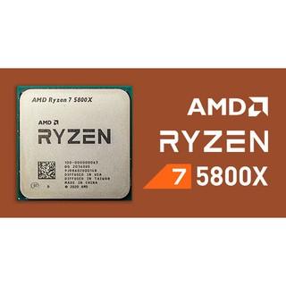 CPU AMD RYZEN 7 5800X Tray không Fan thumbnail