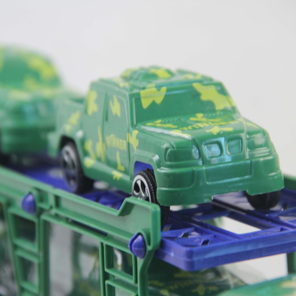 Xe Ôtô 2 tầng chở xe quân sự LCC-14 LOẠI XỊN