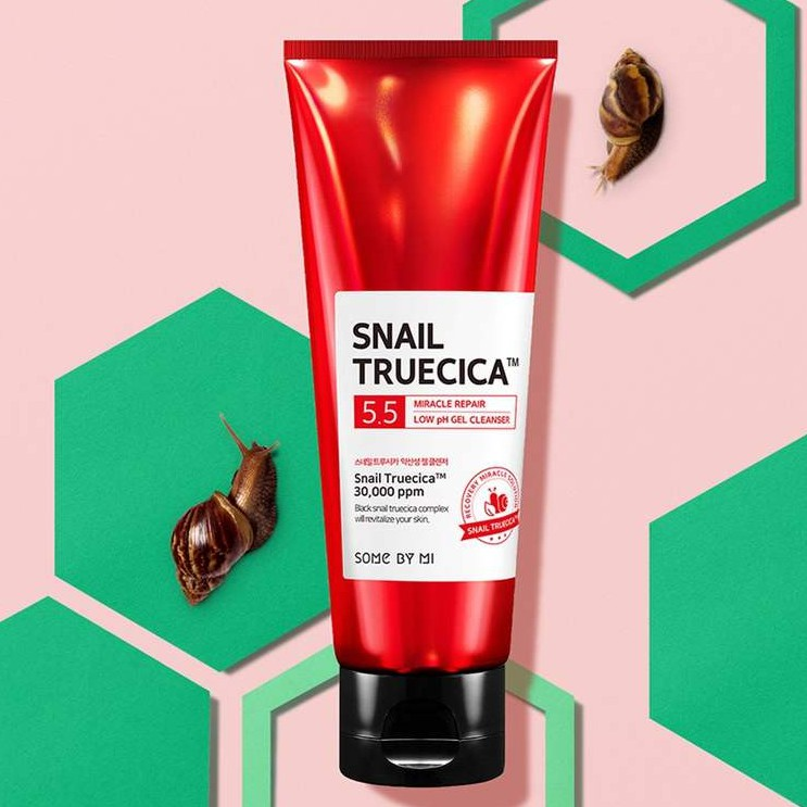 SỮA RỬA MẶT SOME BY MI SNAIL TRUECICA MIRACLE REPAIR LOW PH 5.5 GEL CLEANSER  100ML | Shopee Việt Nam