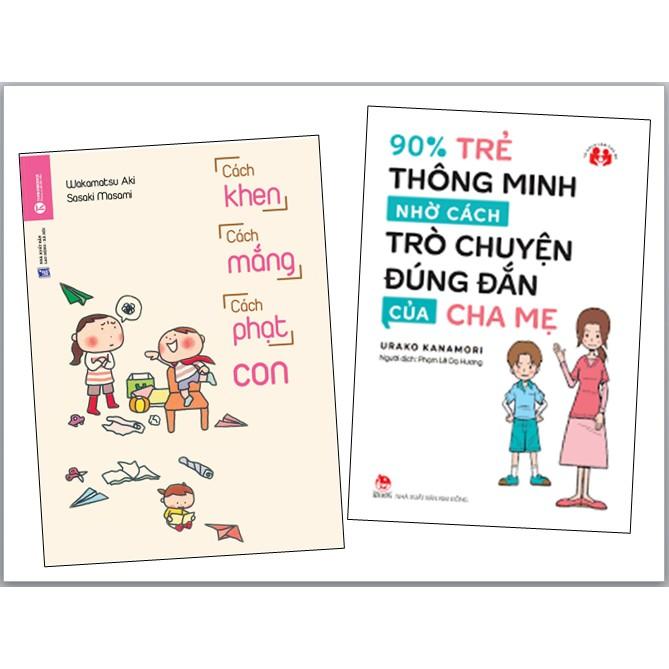 Sách - Combo 2: 90% Trẻ Thông Minh Nhờ Cách Trò Chuyện Đúng Đắn Của Cha Mẹ + Cách - 22050825 , 1500723237 , 322_1500723237 , 98000 , Sach-Combo-2-90Phan-Tram-Tre-Thong-Minh-Nho-Cach-Tro-Chuyen-Dung-Dan-Cua-Cha-Me-Cach-322_1500723237 , shopee.vn , Sách - Combo 2: 90% Trẻ Thông Minh Nhờ Cách Trò Chuyện Đúng Đắn Của Cha Mẹ + Cách