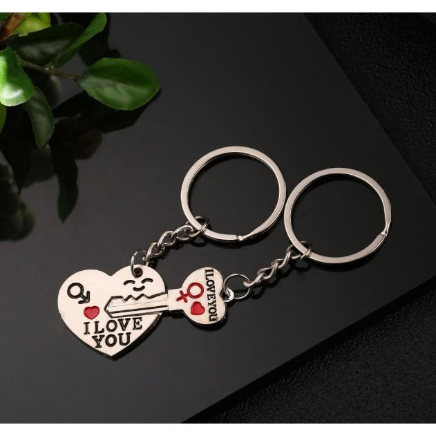 [FLOW SHOP để nhận ưu đãi lớn]  Móc chìa khóa hình I Love You - 4492
