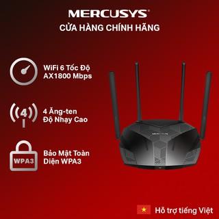 Bộ Phát Wifi Mercusys MR70X Wifi 6 Băng Tần Kép AX1800