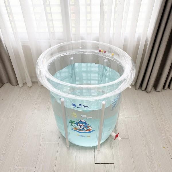 Bể bơi thành cao cho bé sơ sinh Doctor Dolphin 80×80