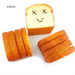 【EY】Toast Bread Squishy Expression Card Cellphone Holder Hand Pillow Stress Reliever B6 in 1