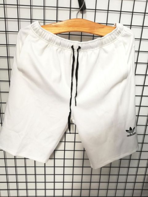 [bigsize < 130kg] Quần short thun nam big size màu trắng