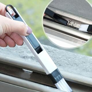 Làm sạch công cụ làm sạch rãnh cửa sổ Bàn chải làm sạch khoảng trống Một bàn chải có thể dễ dàng dọn dẹp cửa sổ