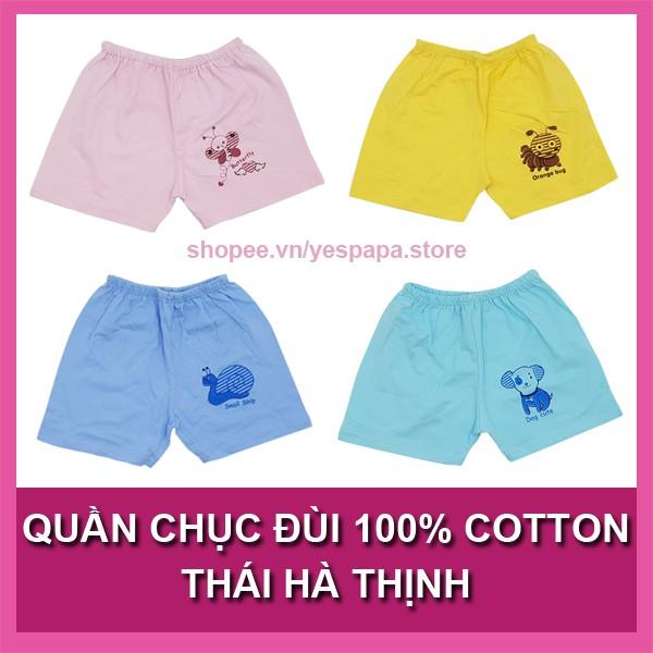Quần chục đùi 100% cotton Thái Hà